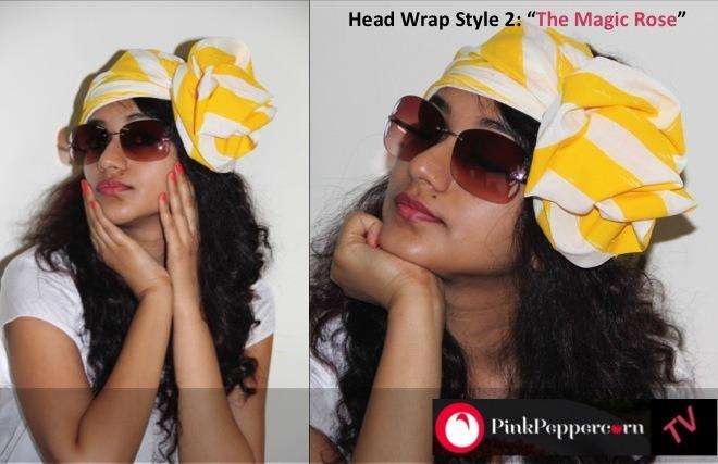 3 ways to tie a Head wrap