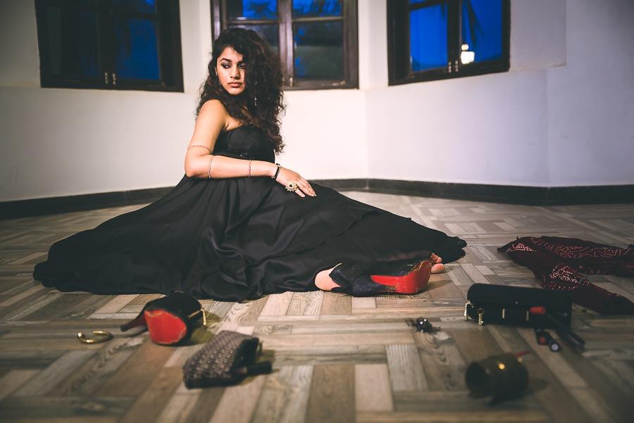Satyabhama angry story krishna pinkpeppercorn mythic fashion