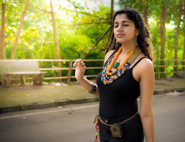 Tibetan inspired tribal fashion sonal agrawal pinkpeppercorn blogger 6