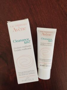 Avene cleanance MAT moisturizer