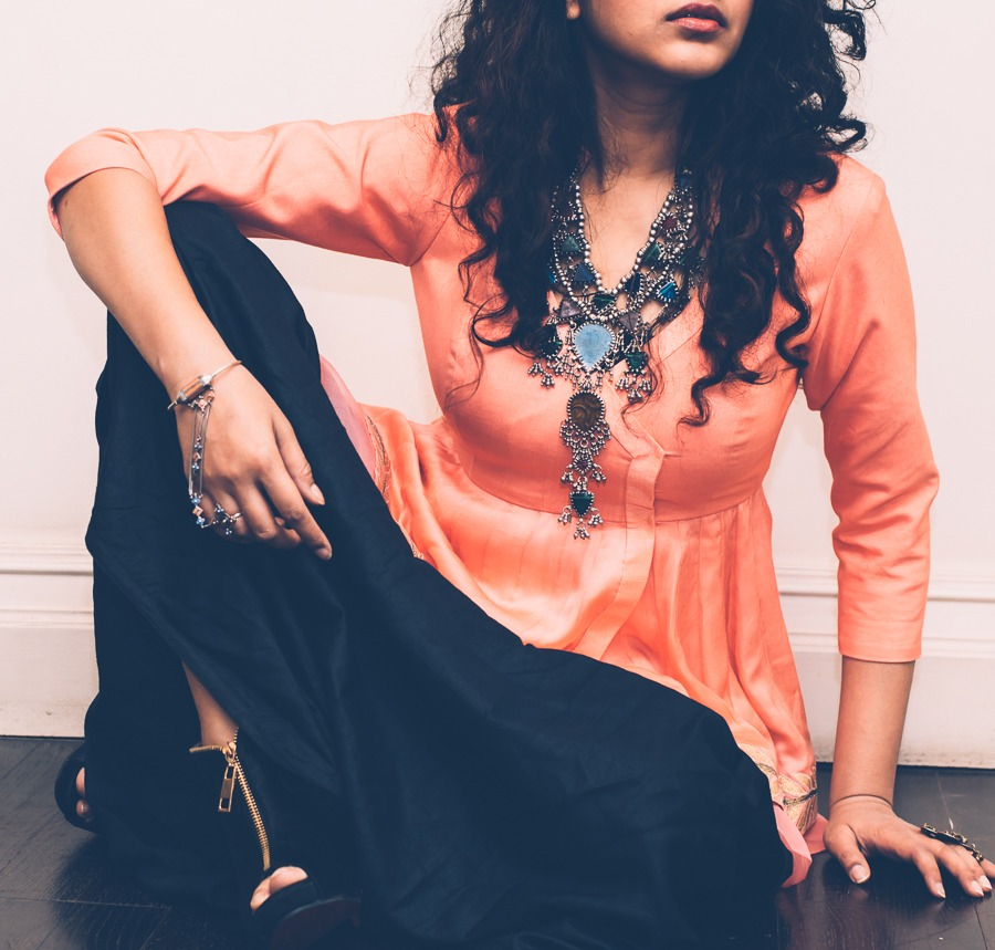 Amrapali necklace pinkpeppercorn sonal agrawal