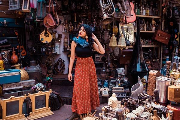 chor bazaar fashion shoot