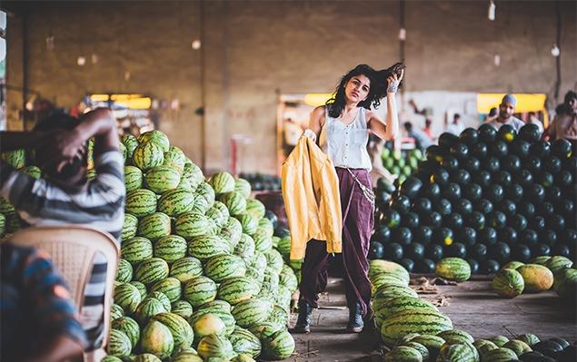 APMC market fashion photoshoot