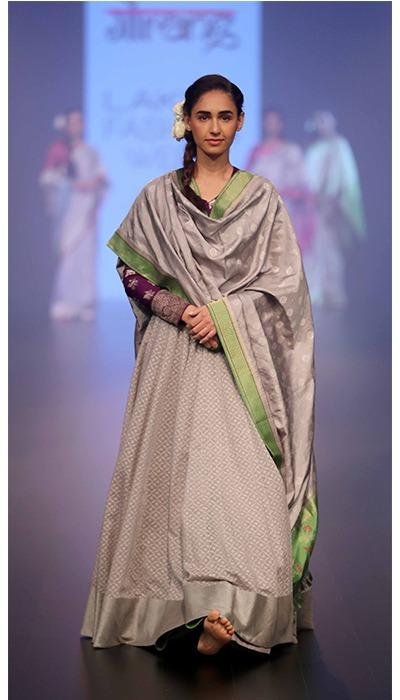 Gaurang Shah latest designs lakme fashion week