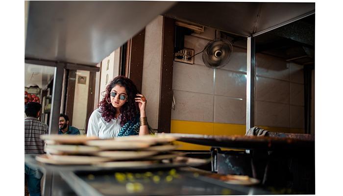 street food and street style ethnic mumbai saree