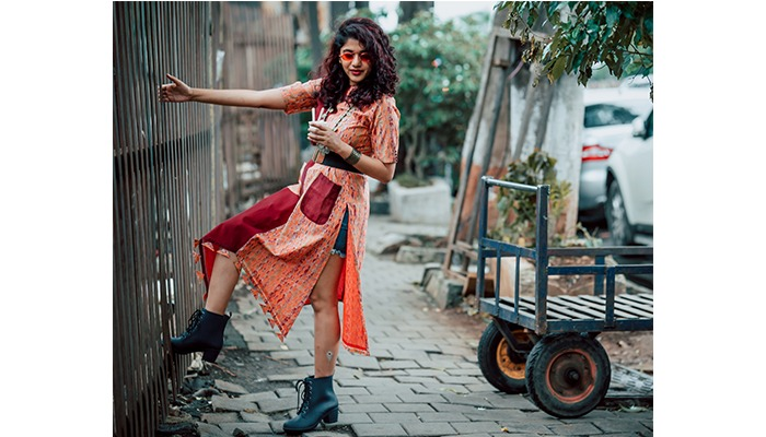 long kurta with shorts as a dress craftsvilla