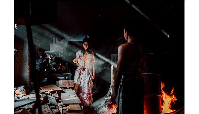 Dhobi ghat sonal agrawal photoshoot mumbai fashion blogger