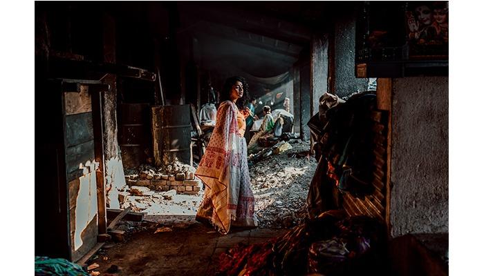 saree photoshoot dhobi shat mumbai street sonal agrawal pinkpeppercorn