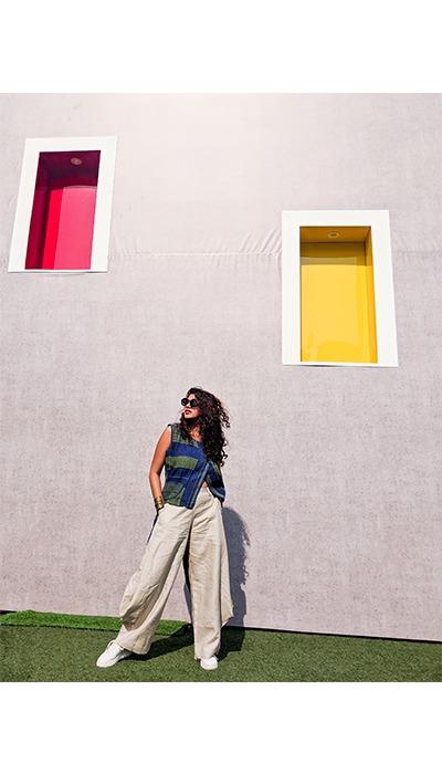 Lakme fashion week streetstyle pinkpeppercorn